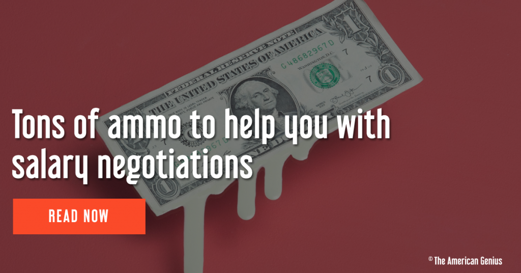 Ammo to help you with salary negotiations