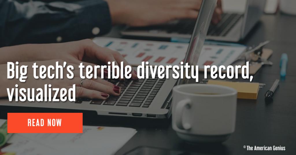 Big tech's terrible diversity record
