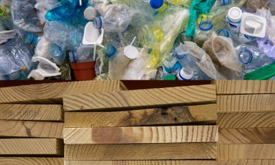 plastic waste turned into lumber