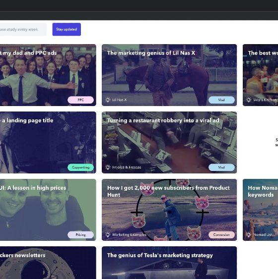 Harry Dry marketing site