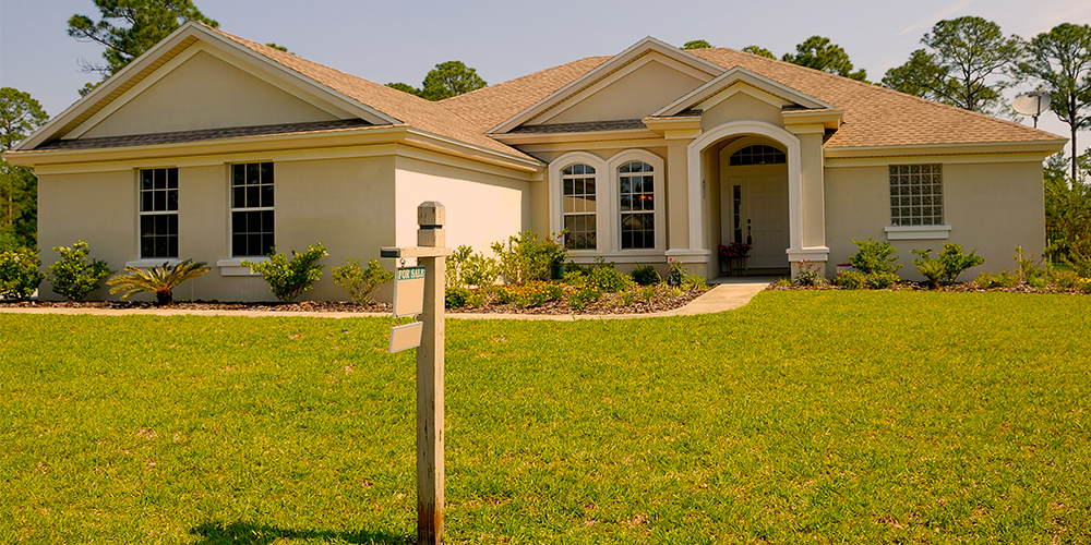 For sale house reflects homebuyer growth.