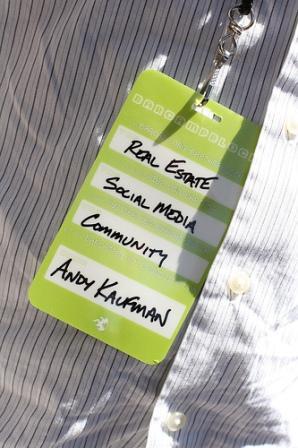 Andy Kaufman's BarCamp Block badge