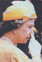 The Queen of England broadcasts on You Tube