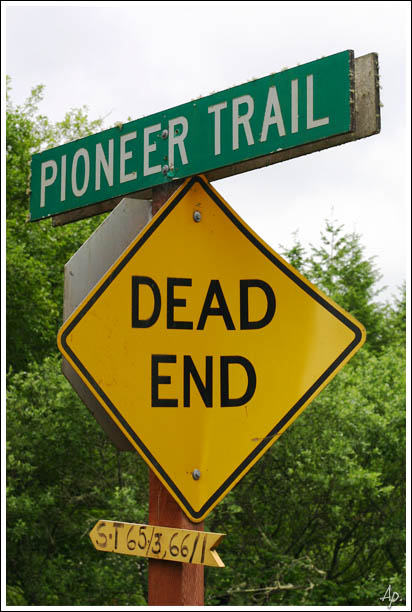 The Pioneering Trail may be a Dead End