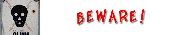 beware of your words