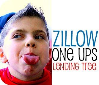 zillow one ups lending tree