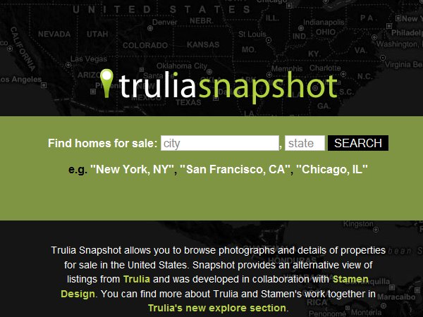 trulia snapshots program unveiled
