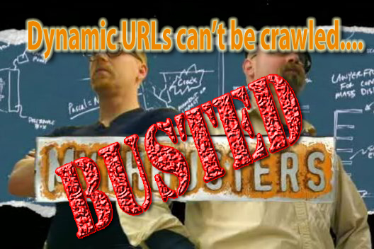 Dynamic URLs Cannot be Crawled....BUSTED!