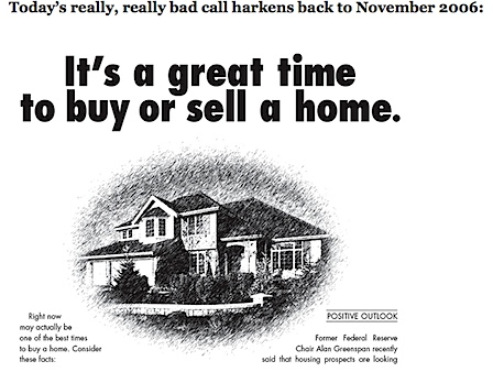 """Thanks, NAR - """"It's a great time to buy or sell a home!"""""""