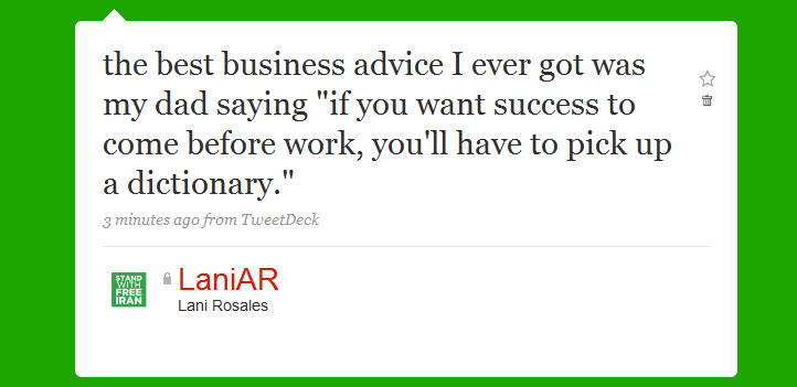 97 The Best Business Advice I Ever Got