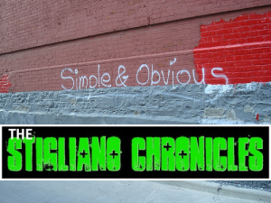 The Stigliano Chronicles - Simple & Obvious