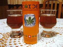 tea with cannabis