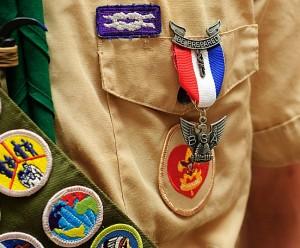 boy scout shirt