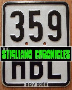 Germany 2008 Moped License Plate - The Stigliano Chronicles