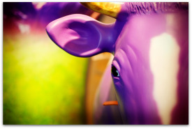Paint Yourself A Purple Cow Shade Of Remarkable.