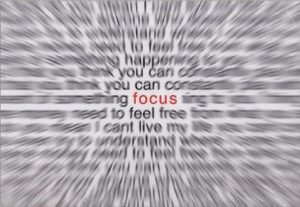 You Can Do It...If You FOCUS.