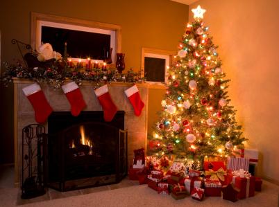 Christmas Treet with Stockings