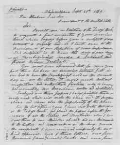 Sarah Hale Letter