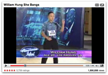 William Hung Awesome Amateur