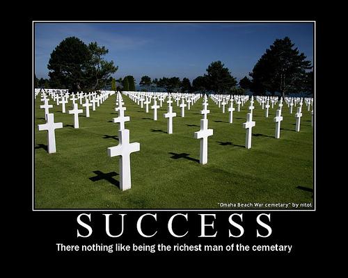 success - cemetery
