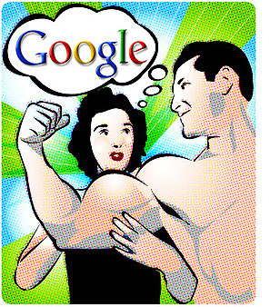 use google's muscles for keyword research