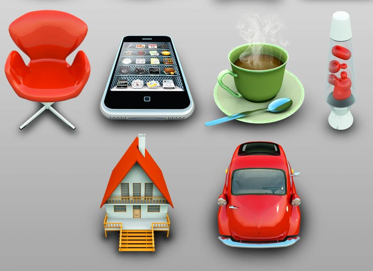 web icons for real estate