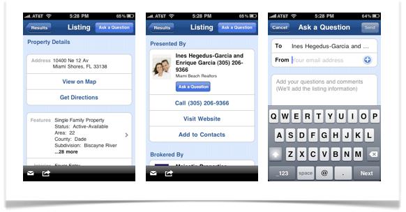 Realtor.com iphone application