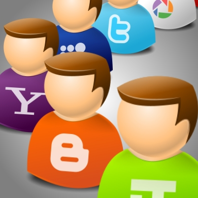 web 2.0 user icon set