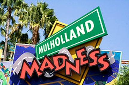 mulholland poster color