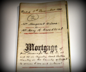 Original Mortgage Document