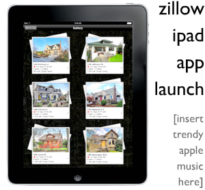 zillow ipad app