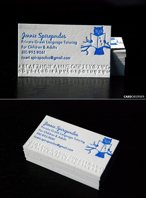 50 beautiful business cards to get your inspirational juices flowing 23 colourmoves Choice Image