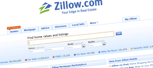 zillow wide Zillow partners with Yahoo! Real Estate and extends Premier Agent