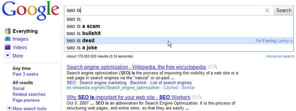 Google Apocalypse: SEO is dead