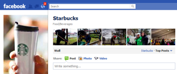 facebook starbucks volume Facebook pages  how many times should you post per day?