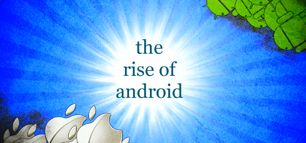 apple vs android Nearly half of all smartphones sold in the second quarter are Android