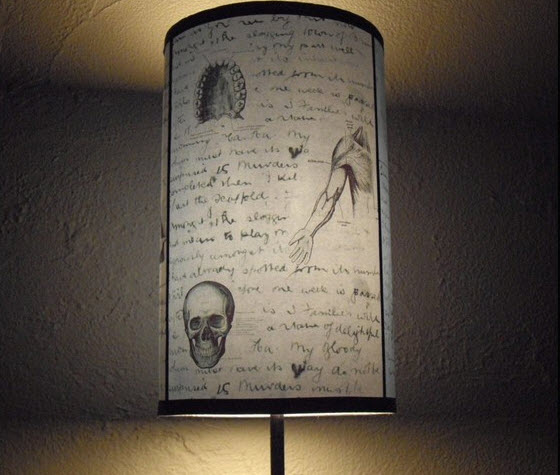 anatomy lampshade vintage Interior design trend spotting   quirky, vintage inspired lamp shades