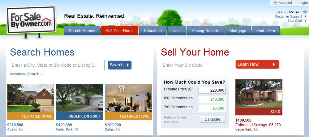 forsalebyowner ForSalebyOwner.com founder gives up on own listing, hires real estate broker