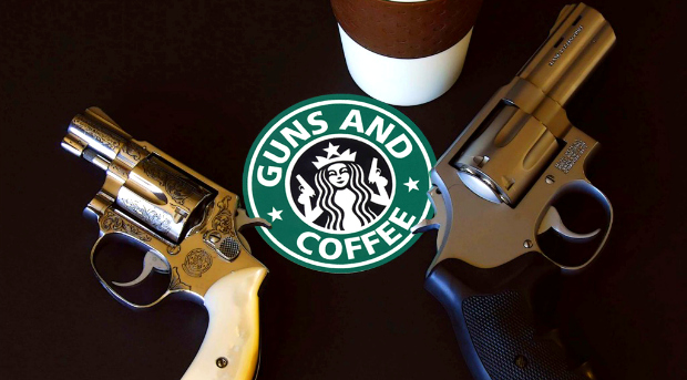 guns coffee One in four male Realtors are packin heat while on the job   report