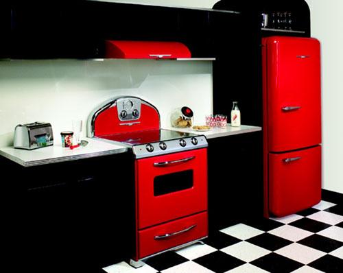 New Vintage Look Kitchen Appliances
