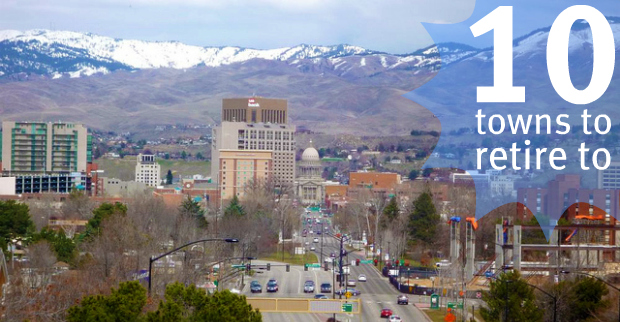 Best small towns in idaho to retire for Best small cities to retire in