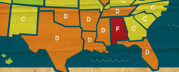 states Americas report card   residents weigh in on their own states