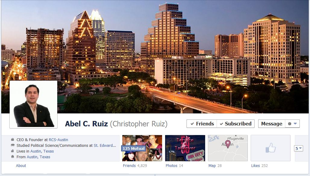 abel facebook 50 Facebook timeline covers   examples and best practices