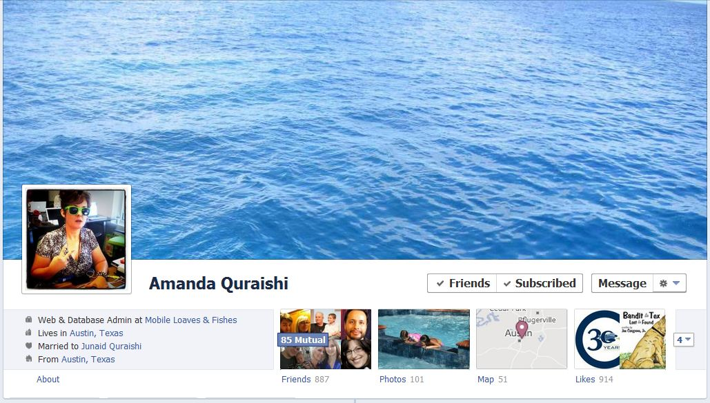amanda facebook 50 Facebook timeline covers   examples and best practices