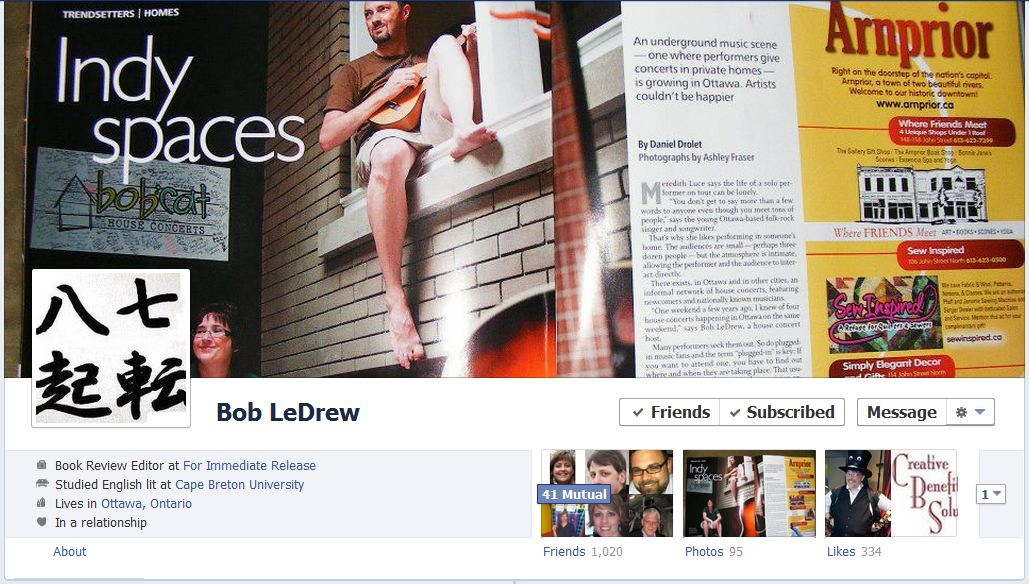 bob facebook 50 Facebook timeline covers   examples and best practices