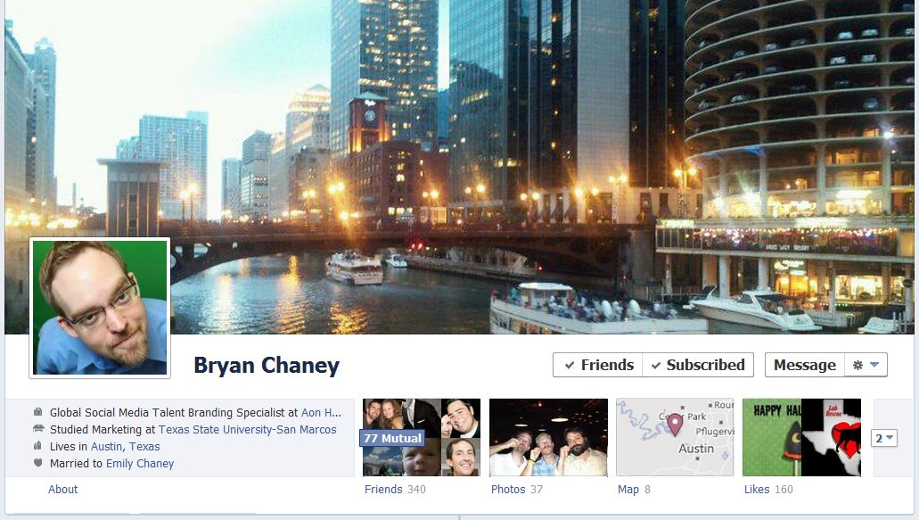 bryan facebook 50 Facebook timeline covers   examples and best practices