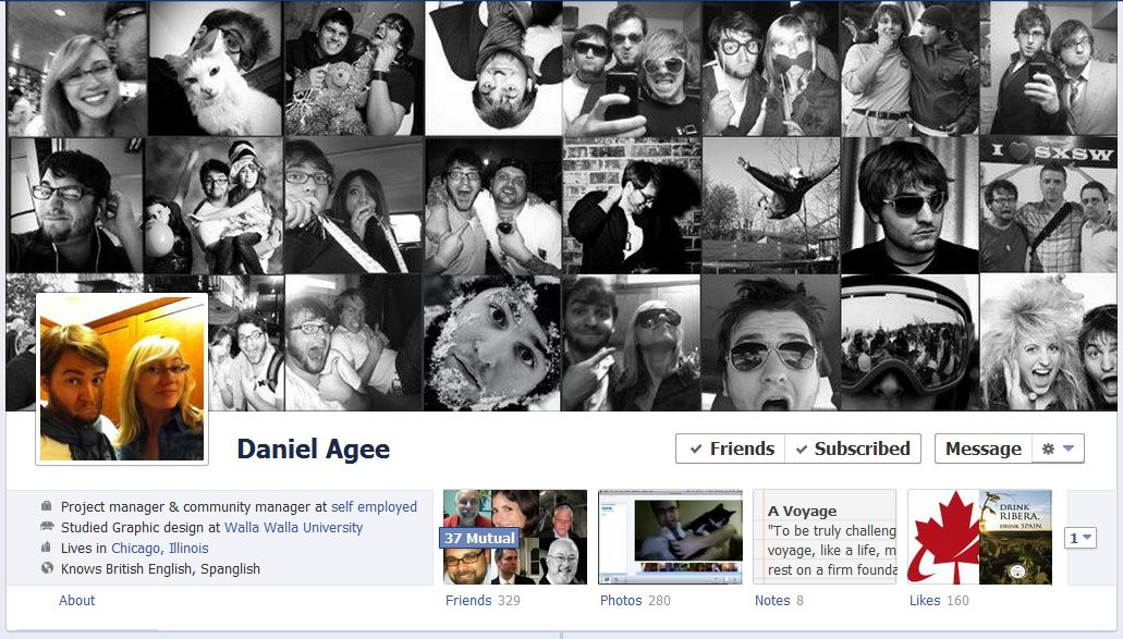 daniel facebook 50 Facebook timeline covers   examples and best practices