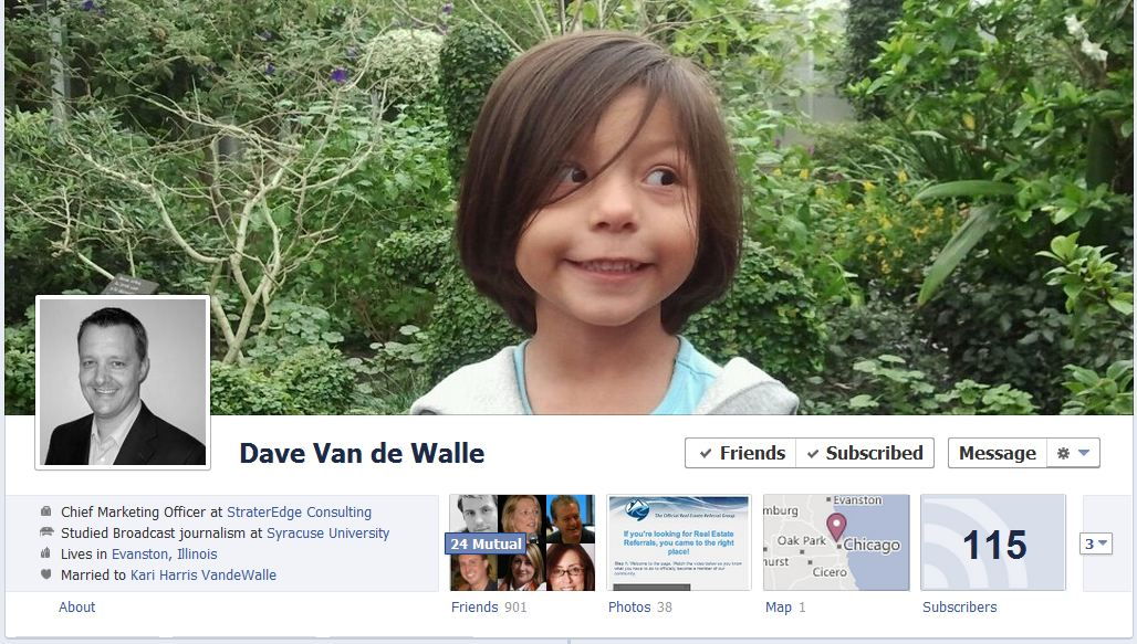 dave facebook 50 Facebook timeline covers   examples and best practices