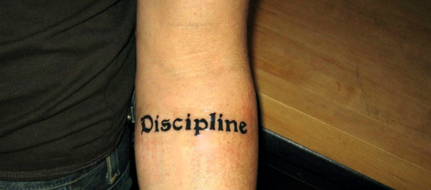 discipline tattoo Is under discipline and over obedience screwing with your success?