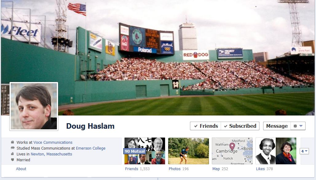 doug facebook 50 Facebook timeline covers   examples and best practices